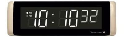 White Digital LED Countdown Timer