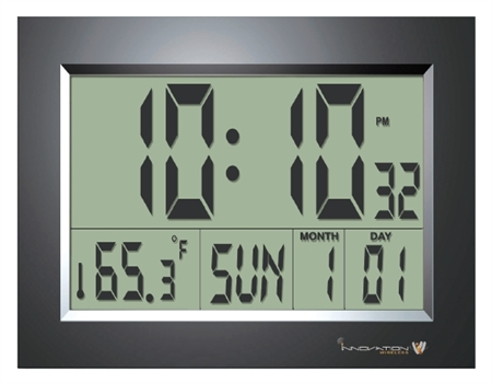 Digital Display Multi-Function LCD Clock