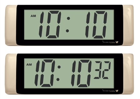 Digital Display LCD Clocks