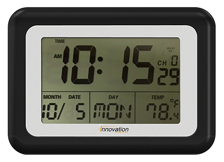 Digital Lcd Clocks Big Display Atomic Clock