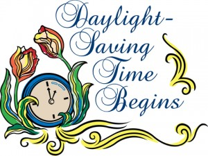 Daylight Savings Time Begins